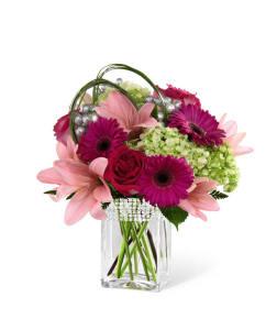 FTD Blooming Bliss Bouquet Vase Arrangement