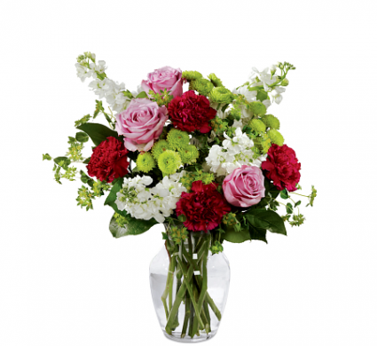 FTD Blooming Embrace  Vase arrangement