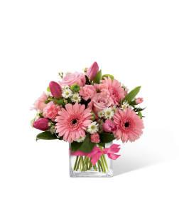 FTD Blooming Visions Bouquet Vase Arrangement