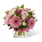 FTD Blooming Visions Bouquet Vased Arrangement