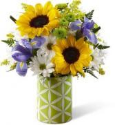 FTD Botanical Bouquet Vased Arrangement