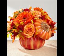 FTD Bountiful Bouquet centerpiece