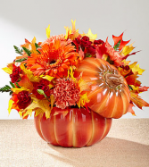Ftd Bountiful Fall Ceramic keepsake