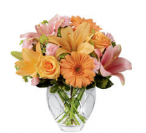 FTD Brighten your day  Vase arrangement