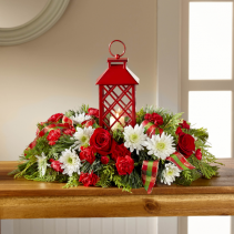 FTD Celebrate The Season Centerpiece Christmas arrangement