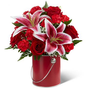 FTD COlor Your Day With Radiance Vased Arrangement