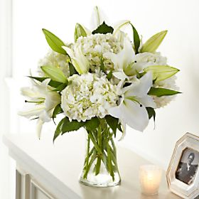 FTD Compassionate Lily Bouquet Fresh Mixed Flower Arrangement in Auburndale, FL | The House of Flowers