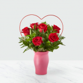 FTD Cupid's Heart Red Roses