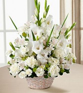 FTD Eternal Affection Arrangement basket arrangement