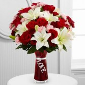 FTD Expressions of Love Vase Arrangement