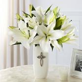 FTD Faithful Blessing Arrangement Fresh Mixed Flower Arrangement