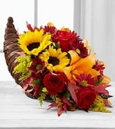 FTD Fall Harvest Cornucopia Fall Arrangements