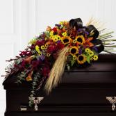 FTD Garden Casket Flowers  Sympathy Arrangement
