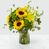 Ftd Garden Grown Bouquet  Vase arrangement