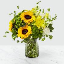 Ftd Garden Grown Bouquet  Vase arrangement