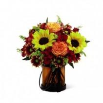 FTD Giving Thanks vase arrangement