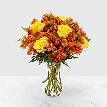 Golden Autumn Bouquet - 440 Fall Arrangement