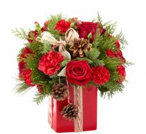 FTD Gracious Gift  Christmas arrangement
