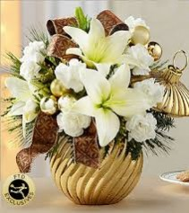 FTD Happiest Holidays Bouquet Holiday Arrangement