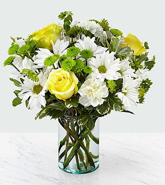 FTD Happy Day Bouquet  vase arrangement