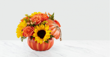 FTD Harvest Traditions Pumpkin Bouquet Fall Pumpkin Arrangement