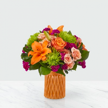 FTD Hearts & Kisses Bouquet Vased Arrangement