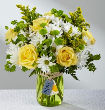 Hello Sun FTD Bouquet