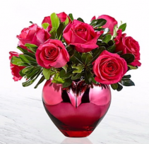 FTD Hold Me in Your Heart Rose Bouquet Roses