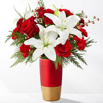 FTD Holiday Celebrations Christmas arrangement