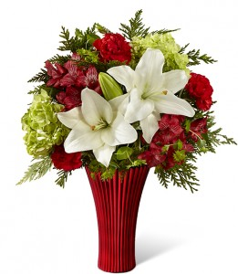 FTD Holiday Celebrations Vase Arrangement