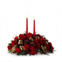 FTD Holiday Classics Centerpiece Centerpiece (Deluxe Size Shown)