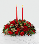 The FTD Holiday Classics Table Arrangement