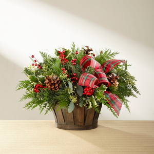 FTD® Holiday Homecomings™ Basket  in Auburn, AL | AUBURN FLOWERS & GIFTS