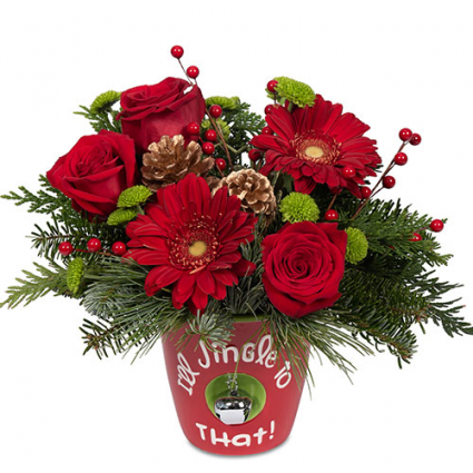 FTD I'll Jingle to That Bouquet