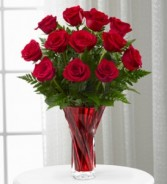 FTD In Love with Red Roses Bouquet Red