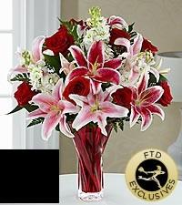 FTD Lasting Romance Vased Arrangement