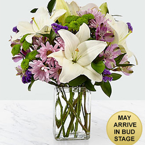 FTD Lavender Fields  vase arrangement