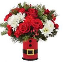 FTD Let's Be Jolly Bouquet Christmas Fresh Arrangement