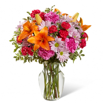 FTD Light Of My LIfe Bouquet Vase Arrangement