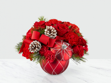 FTD Making Spirits Bright Bouquet Holiday Arrangement
