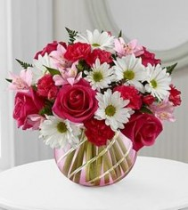 FTD Perfect Blooms Vased Fresh Flowers