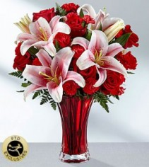 FTD Perfect Impressions Vased Fresh Flowers