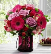 FTD Pink Exuberance Bouquet by Better Homes and Gardens