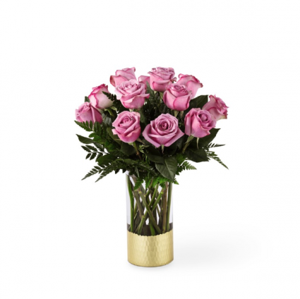 FTD Pure Beauty Lavender Rose Bouquet