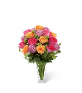 FTD Pure Enchantment Rose Bouquet Vase Arrangement