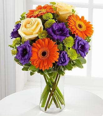 FTD Rays of Solace Bouquet Vased Arrangement