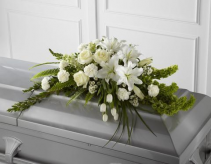 FTD Resurrection Casket Spray  Sympathy Arrangement