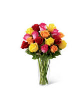 FTD Bright Spark Bouquet Vase Arrangement