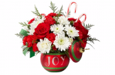 FTD Season Greetings Bouquet Christmas Arrangement