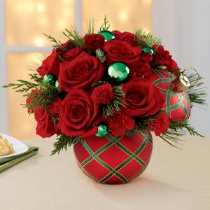 Seasons greeting bouquet green  in Kitchener, ON | KITCHENER ONTARIO FLORIST